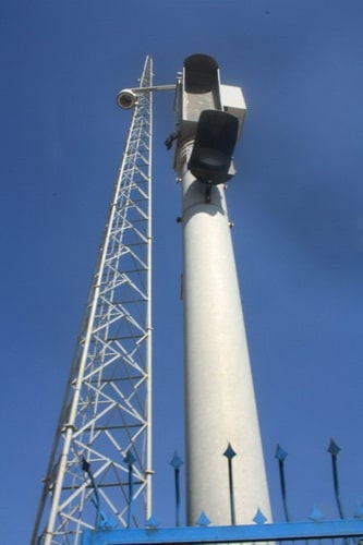 Camera pole