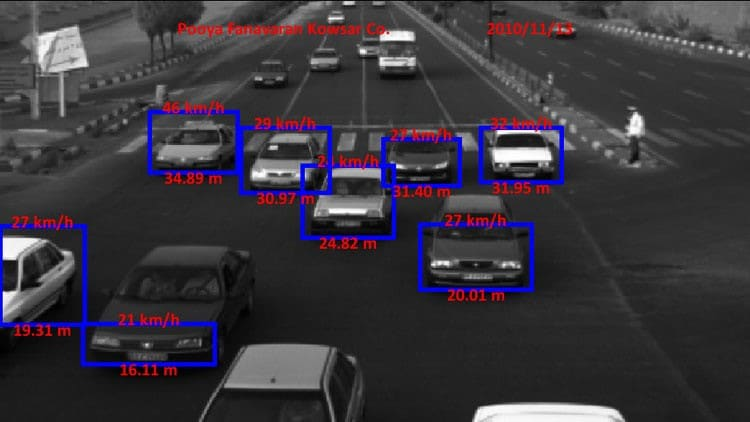 Detection of all the vehicles in lane