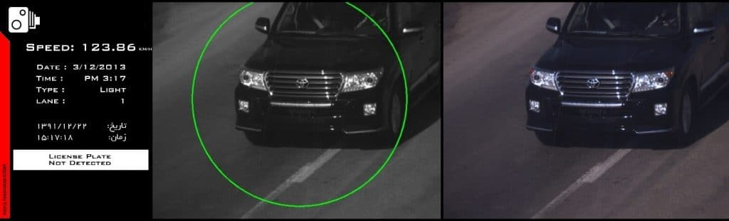 Speed detection regardless of license plate