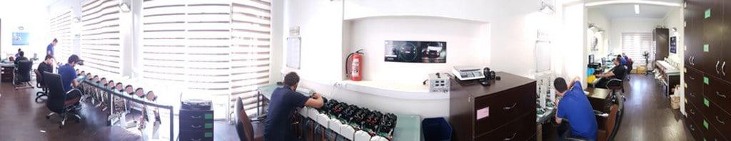 Karabin's production line